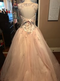 Light Pink XV Año gown Los Angeles, 90062