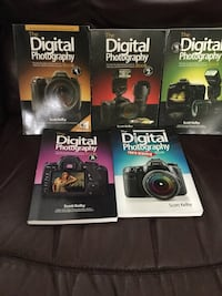 The Digital Photography (series of 5 books)