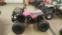 New Gas ATV 4 Wheeler Fully Automatic 125cc With Reverse Wholesale pricing firm(: limited stock! Chicago
