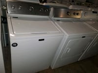 Maytag top load Washer and dryer set working perfectly four months war Baltimore, 21223