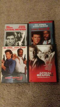 Lethal weapon dvd's Minneapolis, 55423