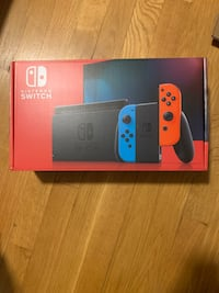 Nintendo Switch Console with Neon Red/ Neon Blue Joy-Cons 32GB