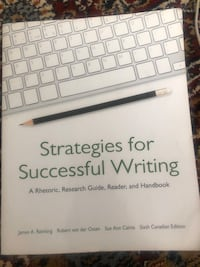 strategies for successful writing  Toronto, M6P 1A3
