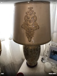 brown and black table lamp Inwood, 25428