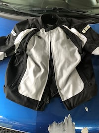 black and white zip-up jacket Kingsport, 37660