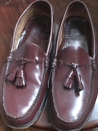 Men shoes used twice Tasselwee jun size 9 1/2 D dark brown Toronto, M3A