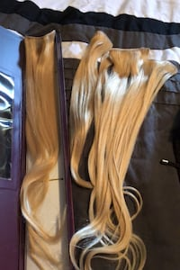 """100% Real Hair Extensions Blonde 24"""" length New Tecumseth, L9R 0A5"""