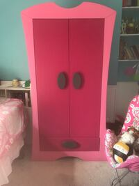 Pink wooden 2-door wardrobe (pressed wood with venier) Fogelsville, 18051