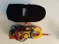red, black and yellow Ideal clamp multimeter Toronto, M6P 2M6