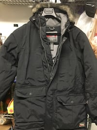 Eddie Bauer men's down parka sz M