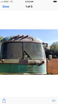 1958 GMC Bus  Red House, 25168