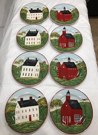Decorative Plates Set of 8 Brownsville, 78526