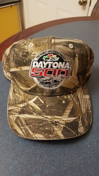 2017 Daytona 500 Camo hat Palm Coast