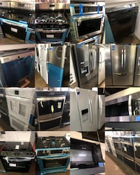 New Scratch and Dent & used Appliances-4&6 months warranty
