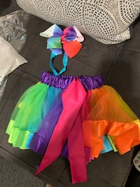 Rainbow tutu and headband infant to 5 months West New York, 07093