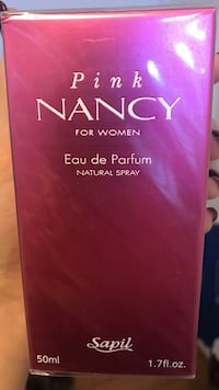 50 ml pink nancy for women eau de parfum box Mississauga, L5M 4Z5
