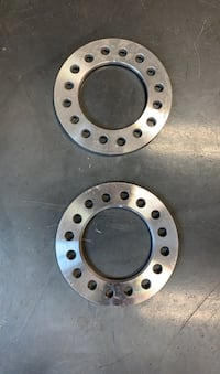 Wheel spacers for first gen dodge Cummins dually