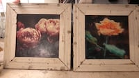 """Two floral """"shabby chic"""" wall decor Ashburn, 20148"""