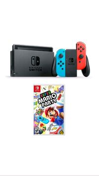 black and blue Nintendo Switch with box Bristol, 06010