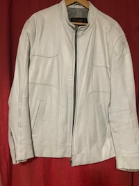 White Leather Biker Jacket Brampton, L6V 2E5