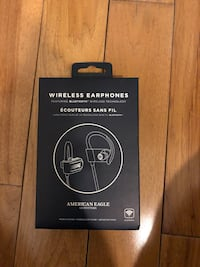 American Eagle wireless earphones box Baltimore, 21202