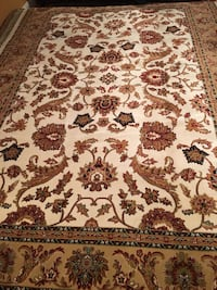 Brand new Traditional Design Area Rug size 8x11 nice ivory carpet Pers Burke, 22015