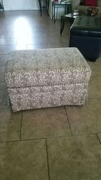 brown and white floral fabric sofa chair Corpus Christi, 78415