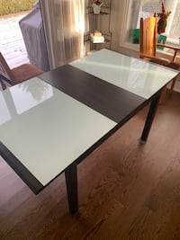 Kitchen / dinning Room Table - glass and wood combination