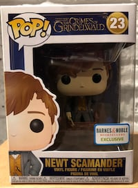 Funko Pop Newt Scamander Barnes and Noble exclusive  Mississauga, L5B 2A8