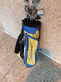 blue and black golf bag Washington, 20024