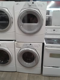 "27"" SET DRYER/WASHER WHIRL POOL FRONT LOAD"