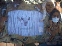 Native American themed 3D picture frame LOUISVILLE