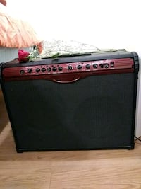 black and red Line 6 guitar amplifier Bay Shore, 11706