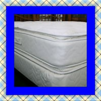 Twin mattress double pillowtop free box & shipping Ashburn, 20147