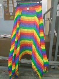 a gay pride smock fits all sizes