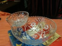 3 pce chip and bowl set  Akron, 44305