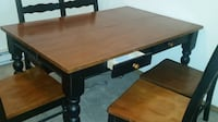 SOLID WOOD DINING ROOM TABLE Fontana
