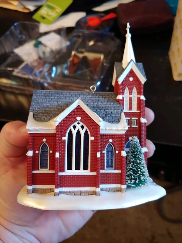 "Hallmark Keepsake: ""Central Tower Church""  8b03c6c6-02ed-46d9-b78a-b1a354794ef0"
