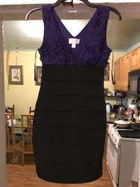 Dark purple v-top and black bottom dress Oakland, 94608