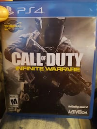Call of Duty Infinite Warfare PS4 game case Middlesex, 27557