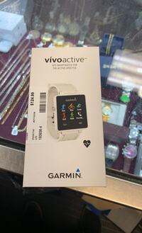 New garmin vívo active