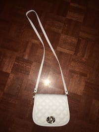 white leather crossbody bag screenshot Vaughan, L4L 4Y9