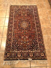 Kashmir oriental hand-knotted wool rug Hoover, 35226