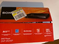 Sony DVD player Brampton, L6T 0A4