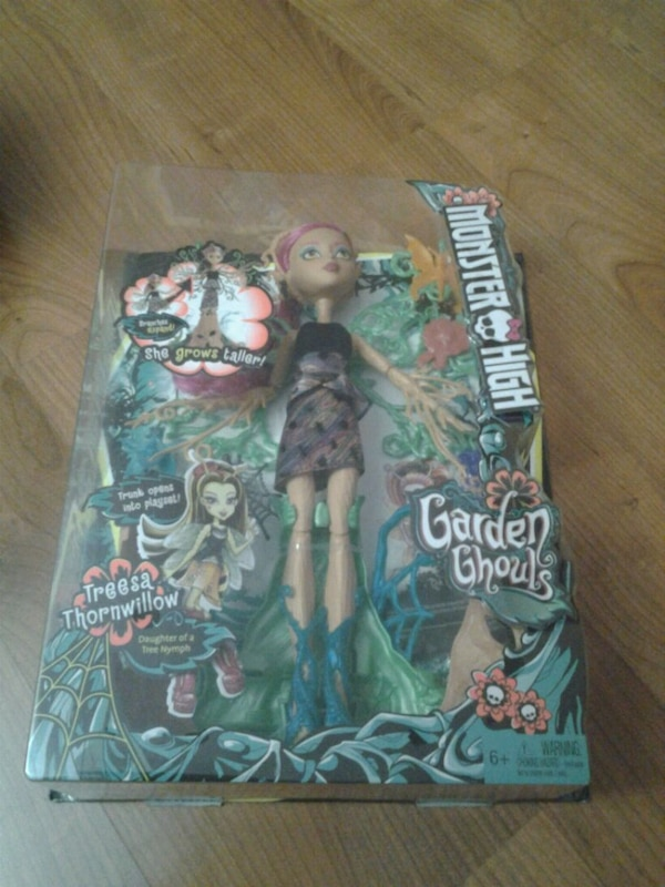 Used Monster High Garden Ghouls Treesa Thrornwillow Doll