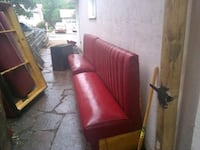 red leather 2-seat sofa Colorado Springs, 80906