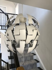 white and gray puzzle chandelier Richmond Hill, L4B 2N4