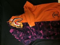 Bape Tiger x Shark ( Orange /Purple ) BRAMPTON