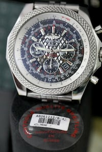 BREITLING for Bentley 06 with box & paperwork and a collectable GIFT