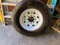 Trailer tire and wheellike new condition  Middletown, 19709